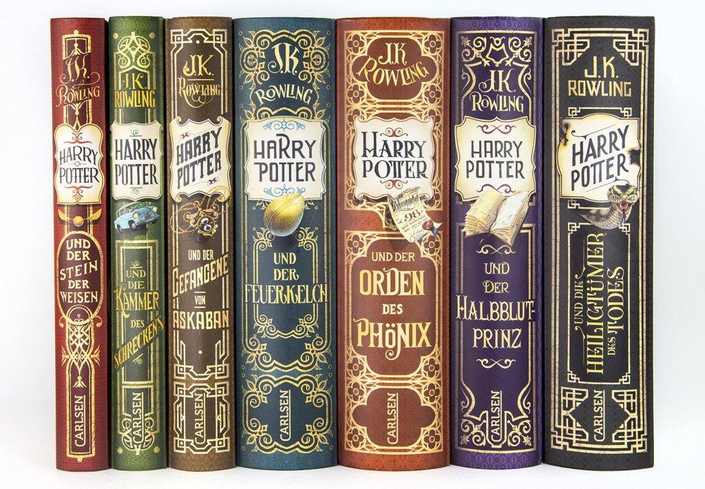 Vydanie Harryho Pottera k 20. výročiu vydania v Nemecku, Autor: Iacopo Bruno