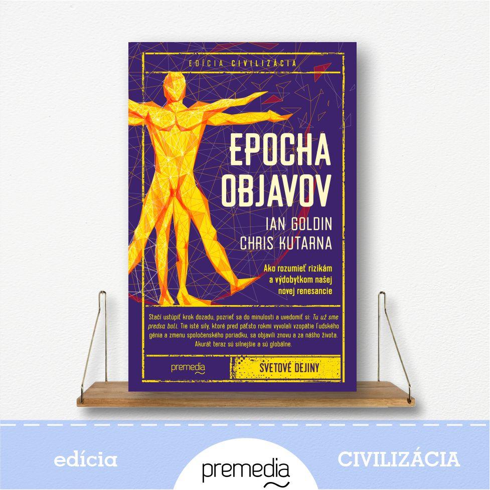 kniha Epocha objavov - edícia Civilizácia