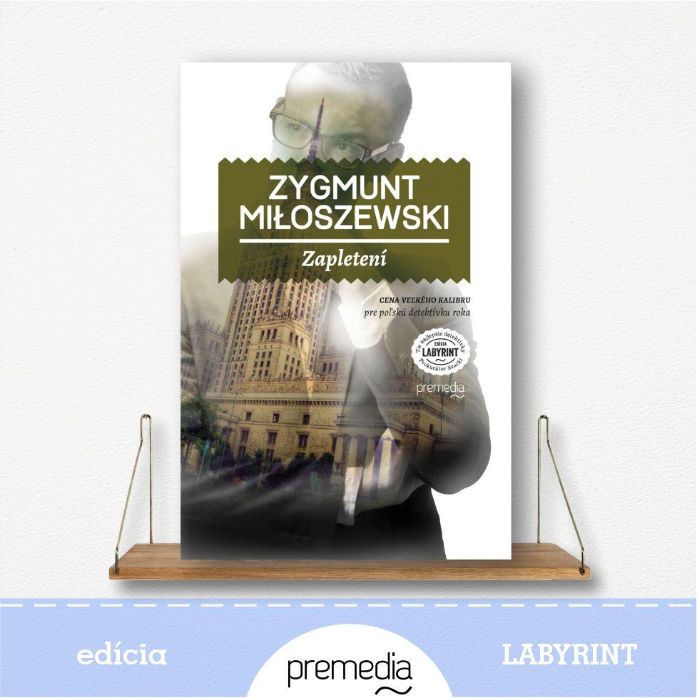 Kniha Zapletení - edícia Labyrint