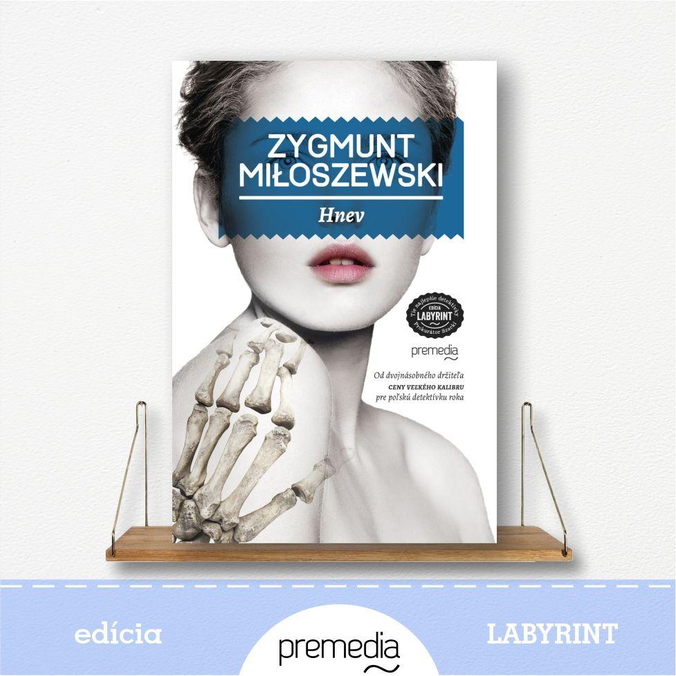 Kniha Hnev - edícia Labyrint