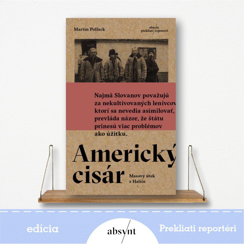 kniha Americký cisár - reportážna literatúra