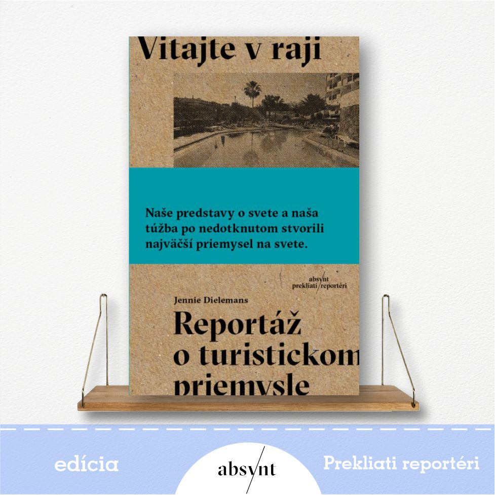 kniha Vitajte v raji - reportážna literatúra