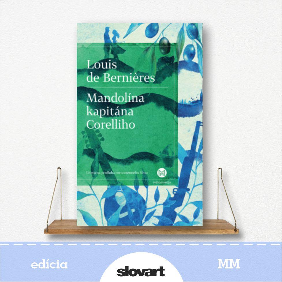 kniha Mandolína kapitána Corelliho - edícia MM