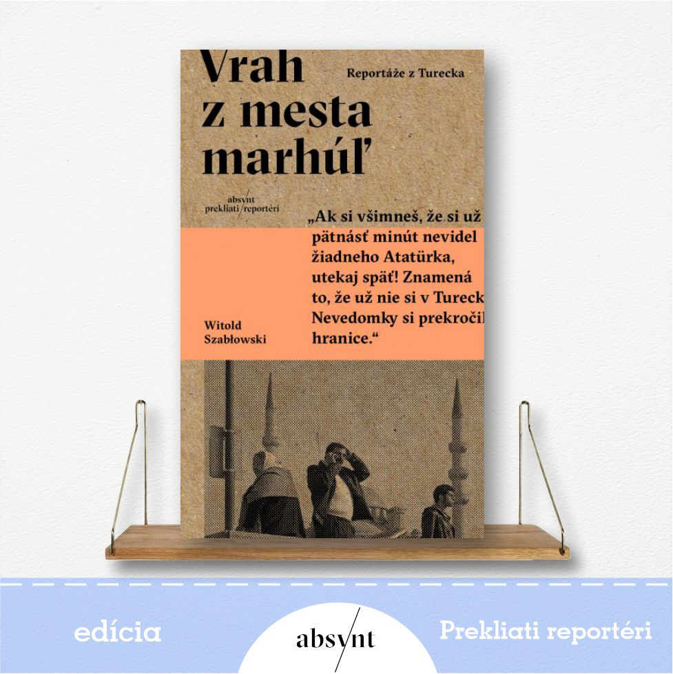 kniha Vrah z mesta marhúľ - reportážna literatúra