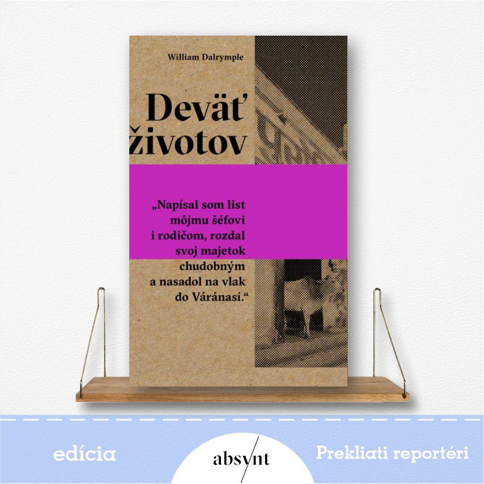 kniha Deväť životov - reportážna literatúra