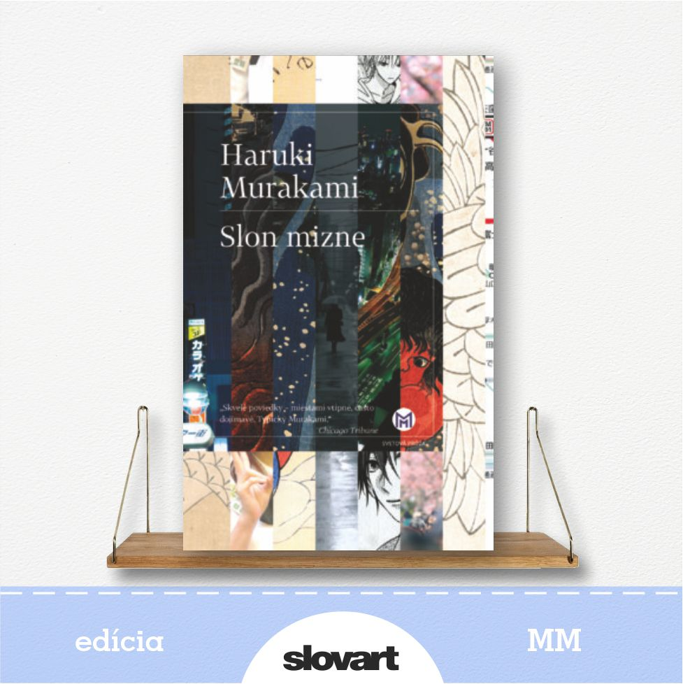 kniha Slon mizne, autor Haruki Murakami  - edícia MM