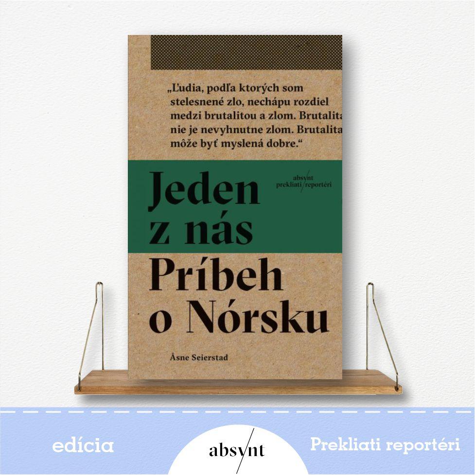 kniha Jeden z nás: Príbeh o Nórsku - reportážna literatúra