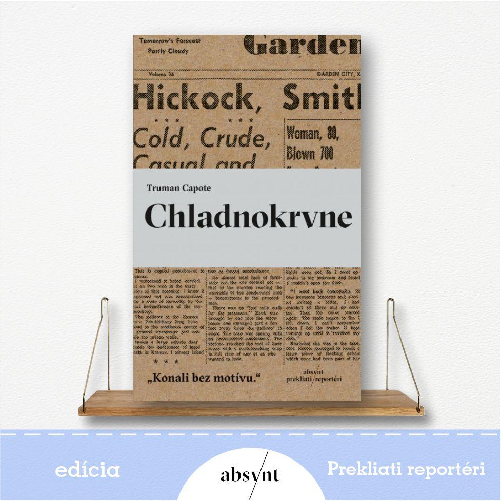 kniha Chladnorvne - reportážna literatúra