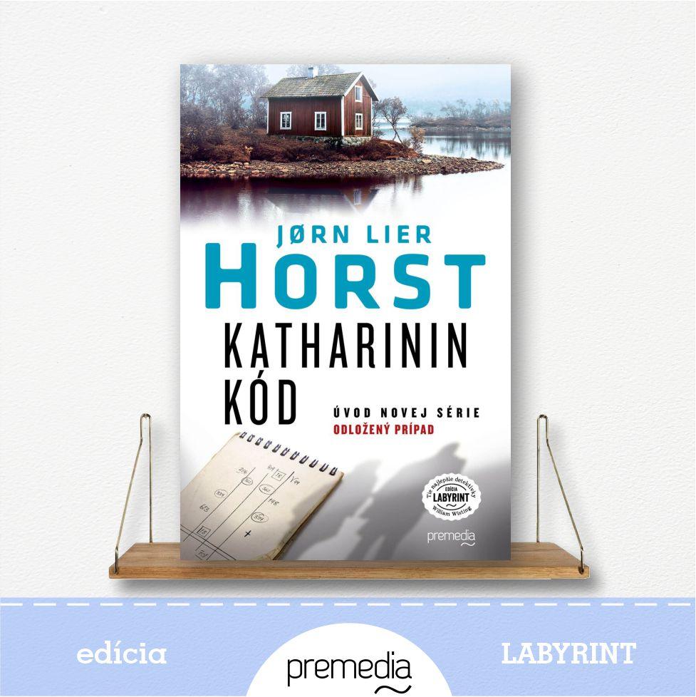 Kniíha Katharinin kód, autor Jorn Lier Horst, severské krimi - knižná séria Odložený prípad