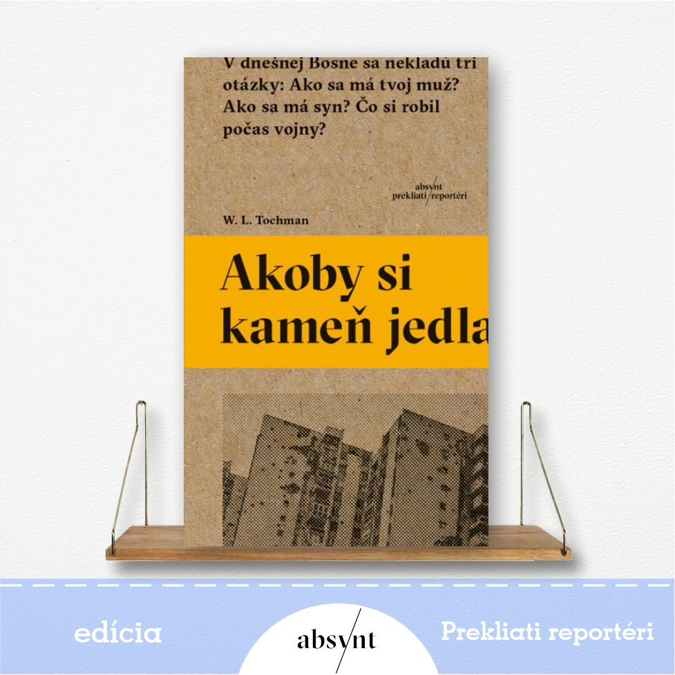 kniha Akoby si kameň jedla - reportážna literatúra
