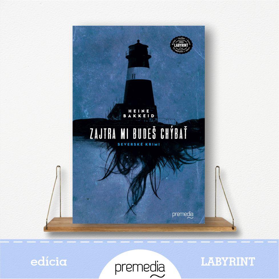 Kniha Zajtra mi budeš chýbať - severské krimi, edícia Labyrint