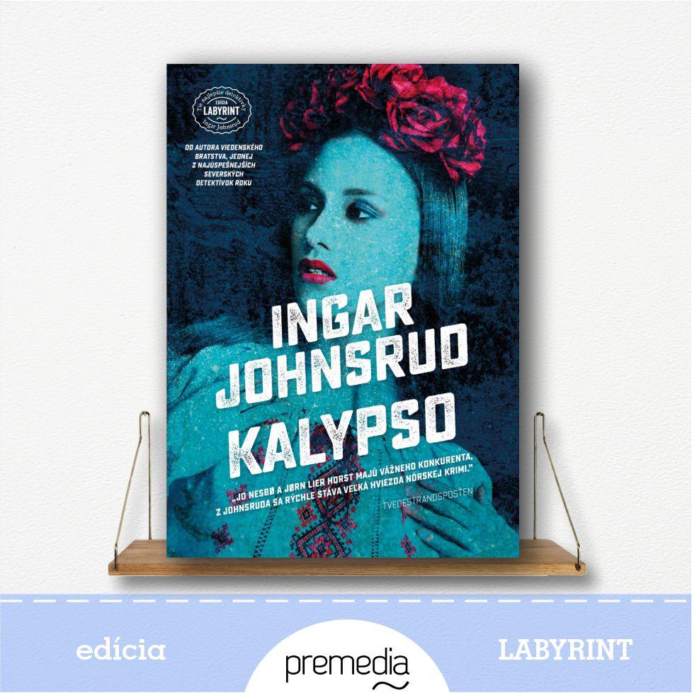 Kniha Kalypso - severské krimi, edícia Labyrint