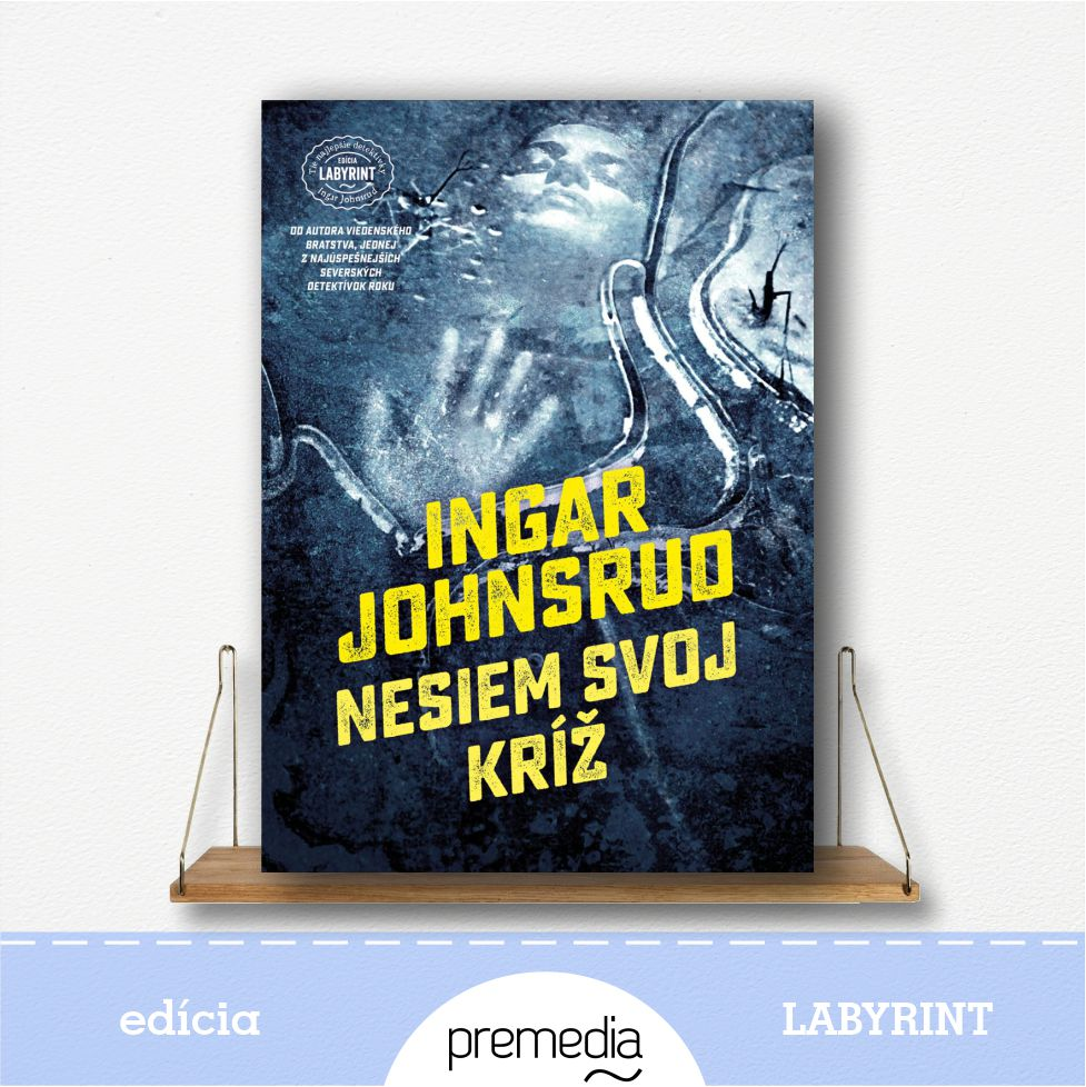 Kniha Nesiem svoj kríž - severské krimi, edícia Labyrint