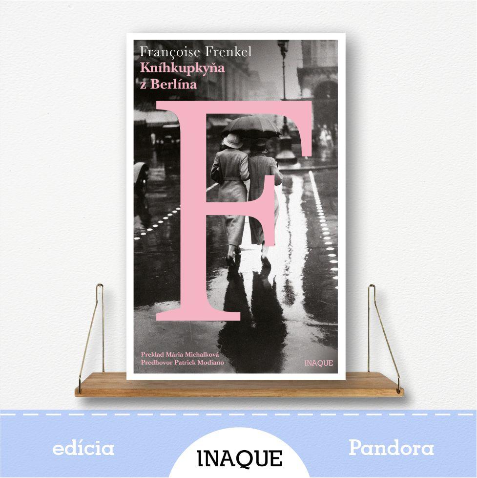 kniha Kníhkupkyňa z Berlína, edícia Pandora