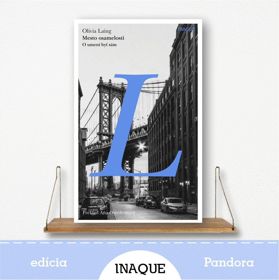 kniha Mesto osamelosti, edícia Pandora