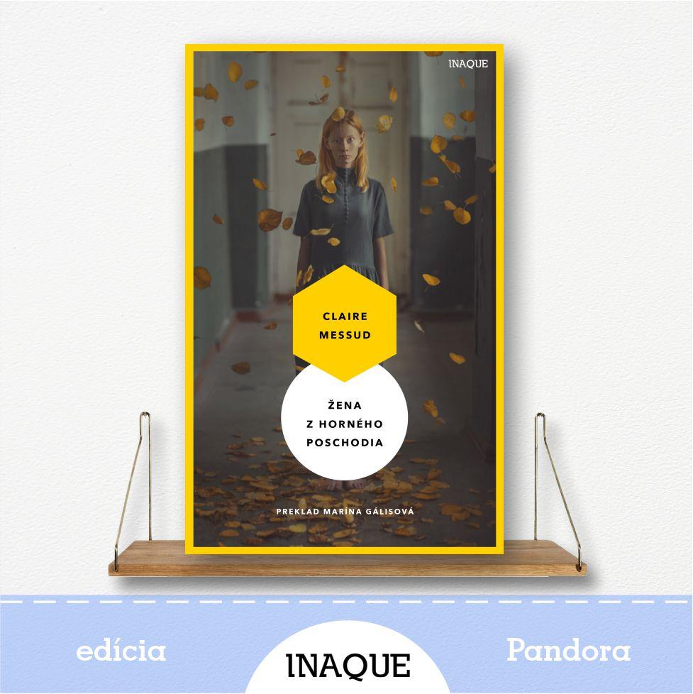 kniha Žena z horného poschodia, edícia Pandora