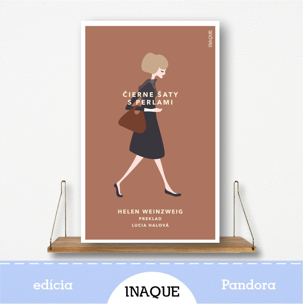 kniha Čierne šaty s perlami, edícia Pandora