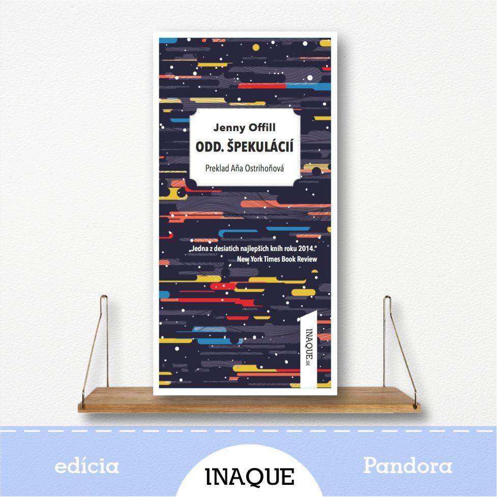 kniha Odd. špekulácií, edícia Pandora