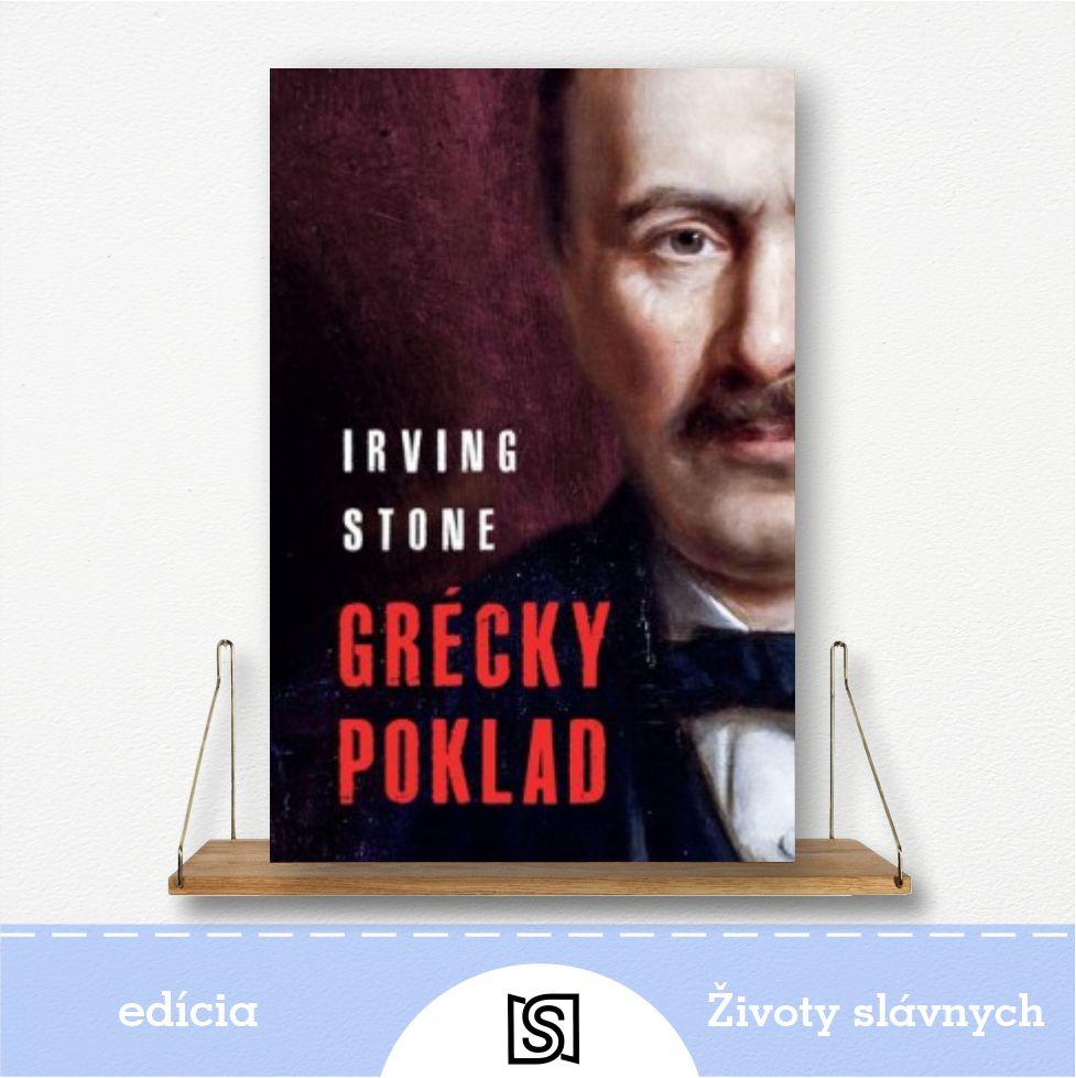 Kniha Grécky poklad - autor Irving Stone