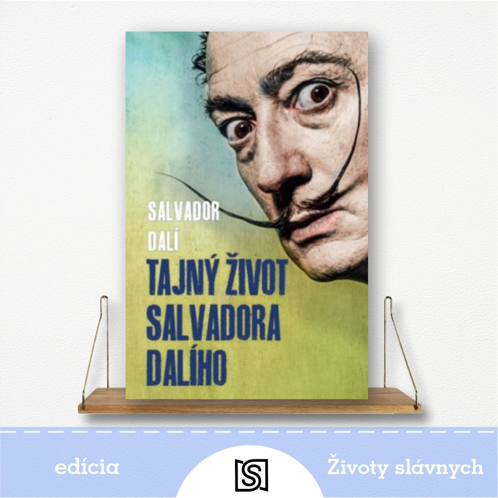 Kniha Tajný život Salvadora Dalího - autor Salvador Dalí