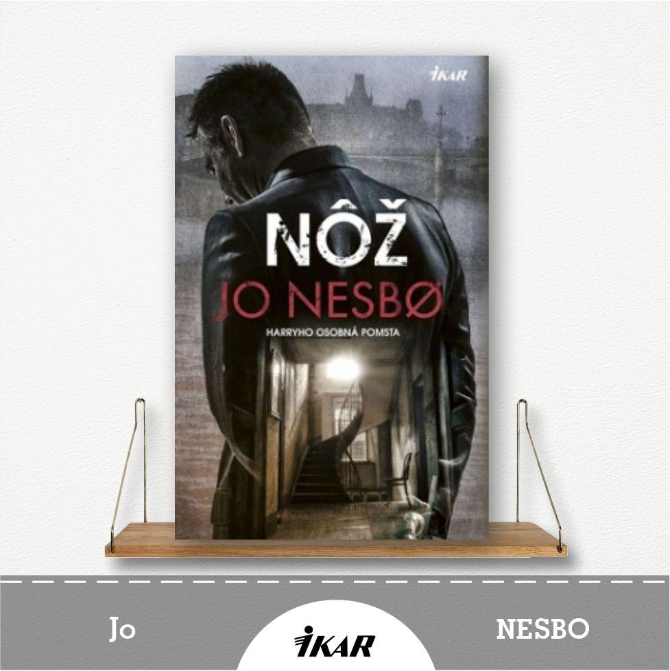 kniha Nôž od Jo Nesbo