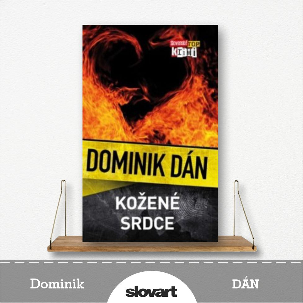 kniha Kožené srdce od Dominika Dána