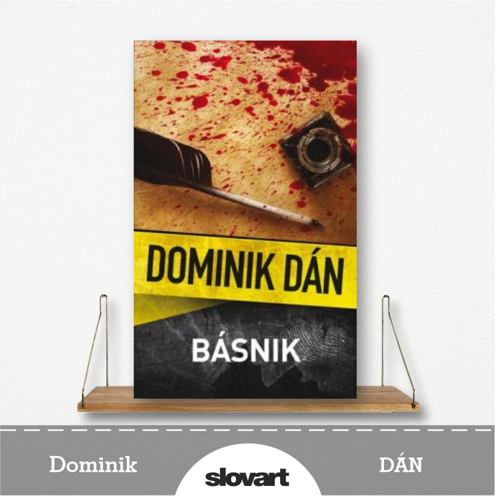 kniha Básnik od Dominika Dána