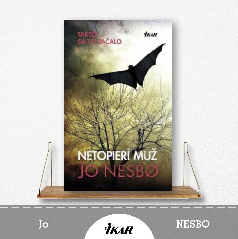 kniha Netopierí muž od Jo Nesbo
