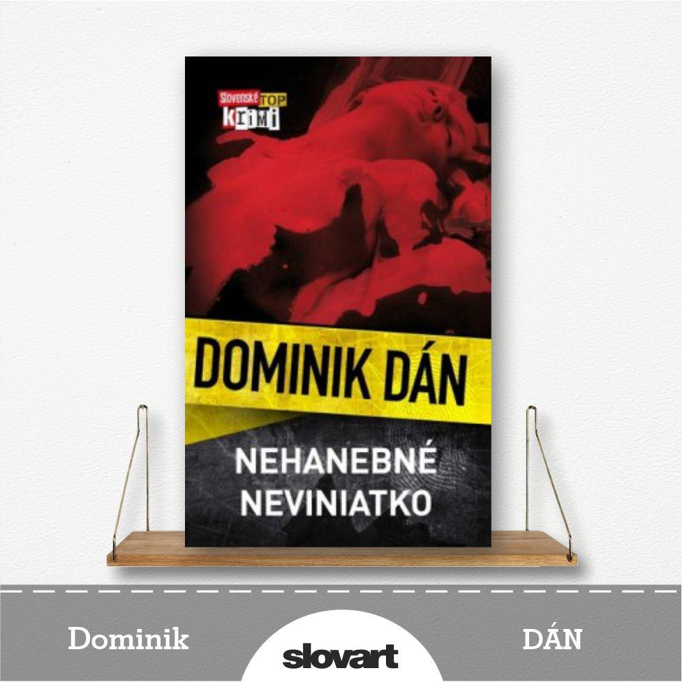kniha Nehanebné neviniatko od Dominika Dána