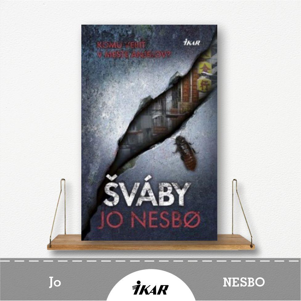 kniha Šváby od Jo Nesbo