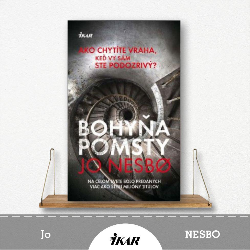 kniha Bohyňa pomsty od Jo Nesbo