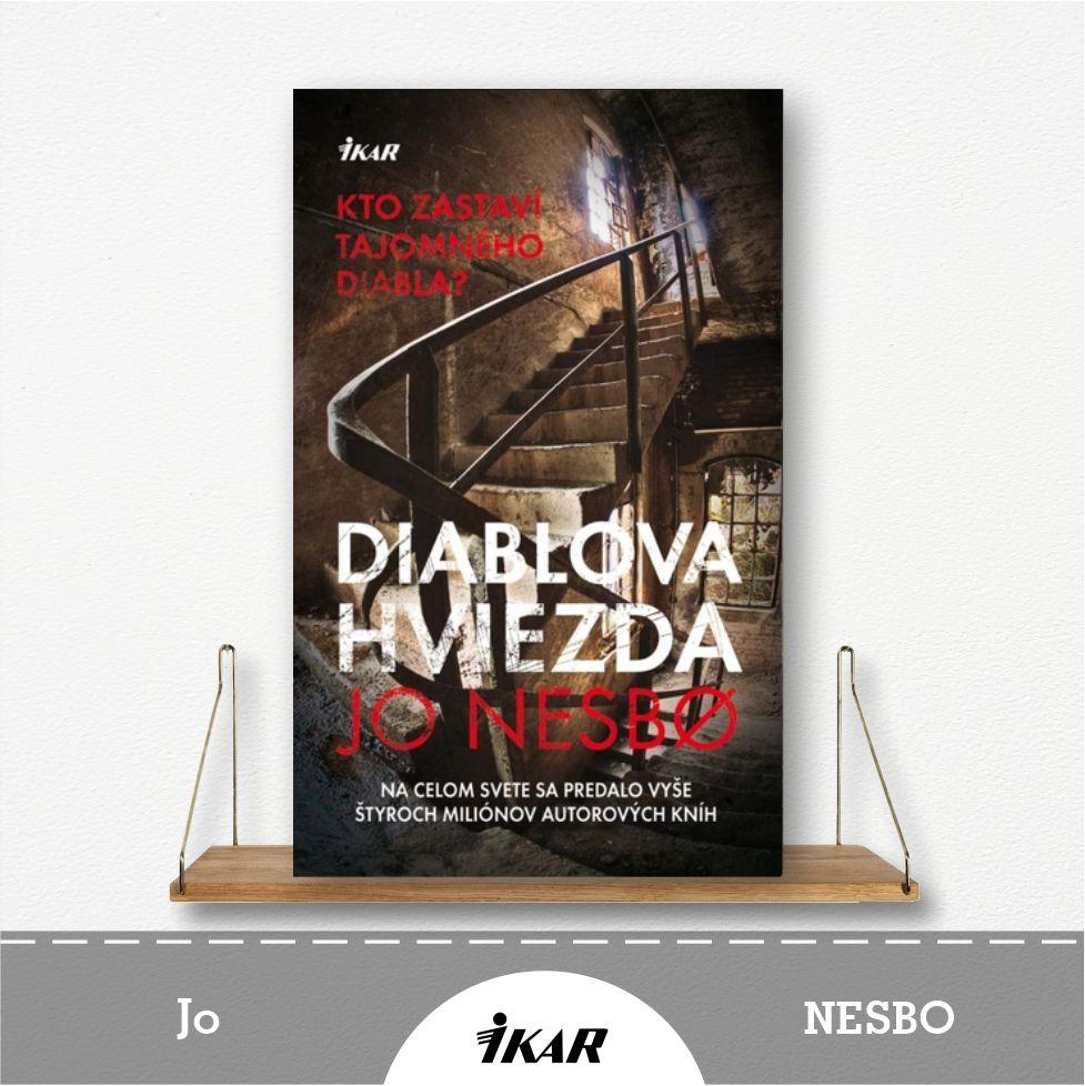 kniha Diablová hviezda od Jo Nesbo