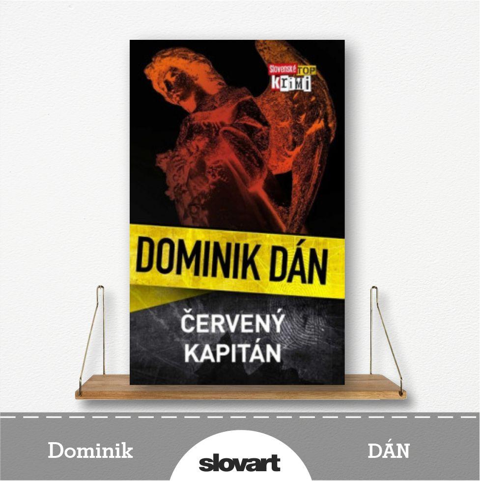 kniha Červený kapitán od Dominika Dána