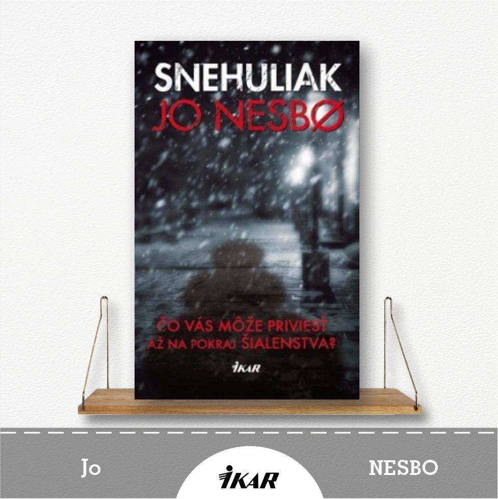 kniha Snehuliak od Jo Nesbo