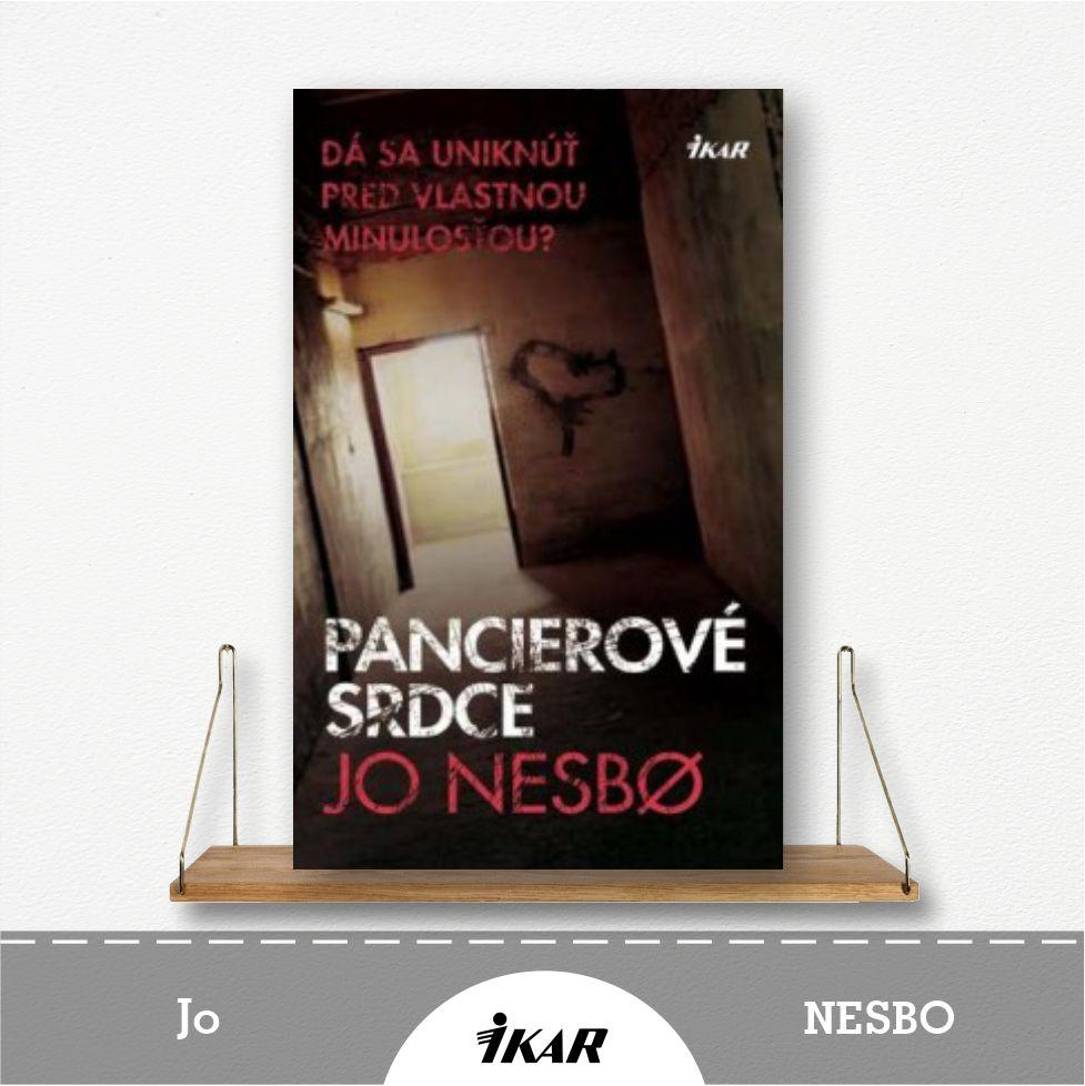 kniha Pancierové srdce od Jo Nesbo
