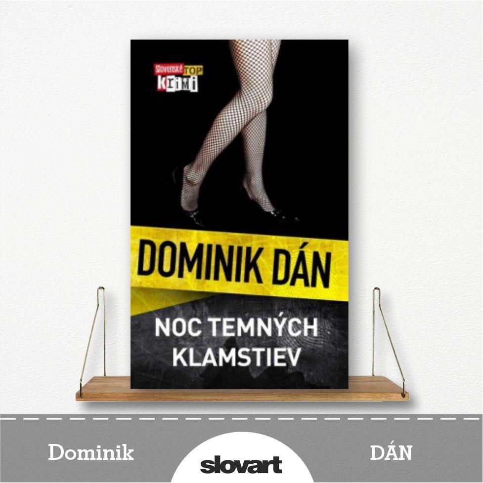 kniha Noc temných klamstiev od Dominika Dána