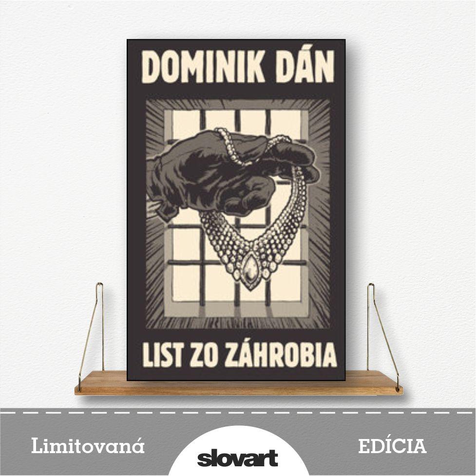 limitovaná edícia knihy List zo záhrobia od Dominika Dána