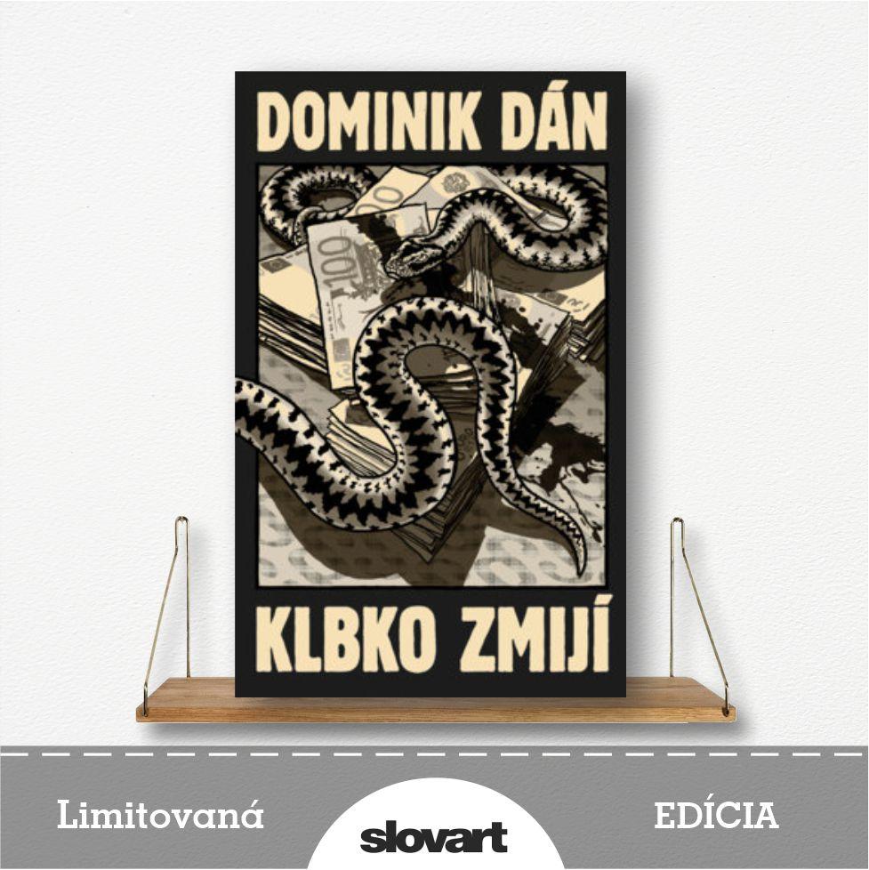 limitovaná edícia knihy Klbko zmijí od Dominika Dána