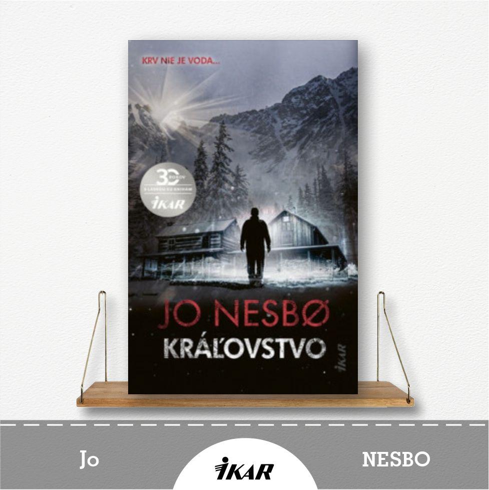 kniha Kráľovstvo od Jo Nesbo
