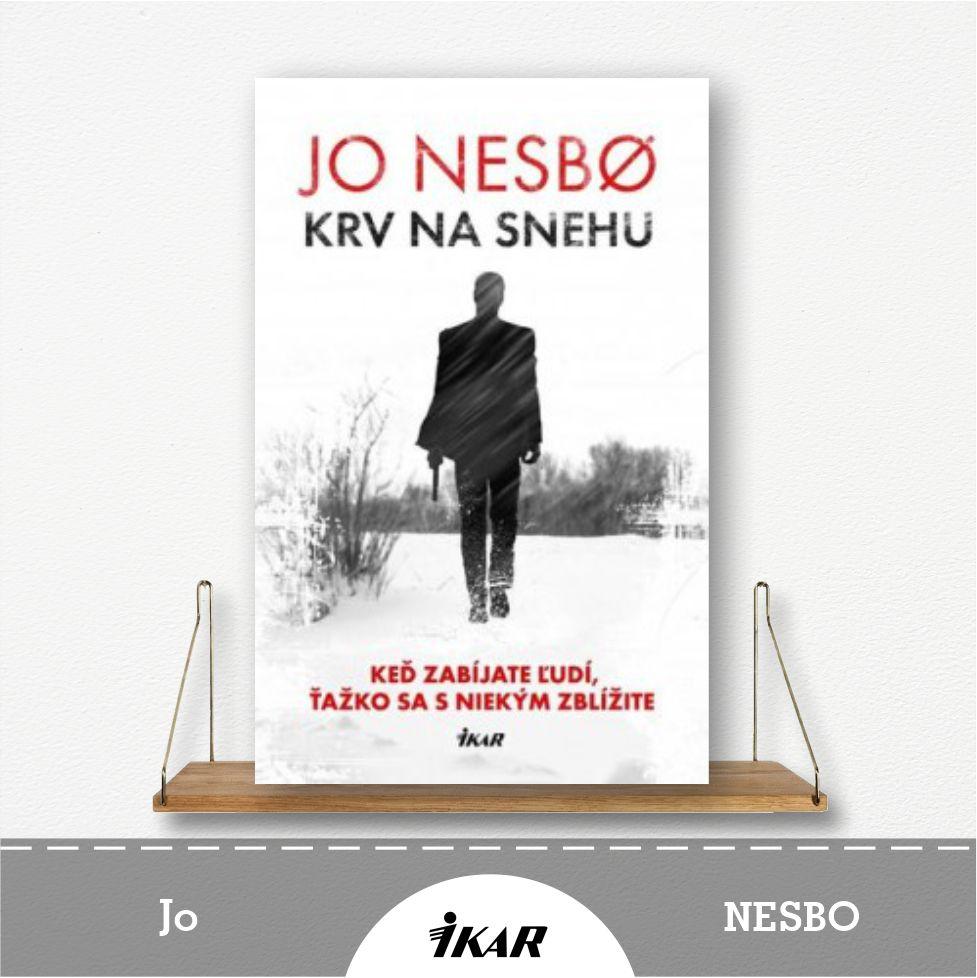 kniha Krv na snehu od Jo Nesbo