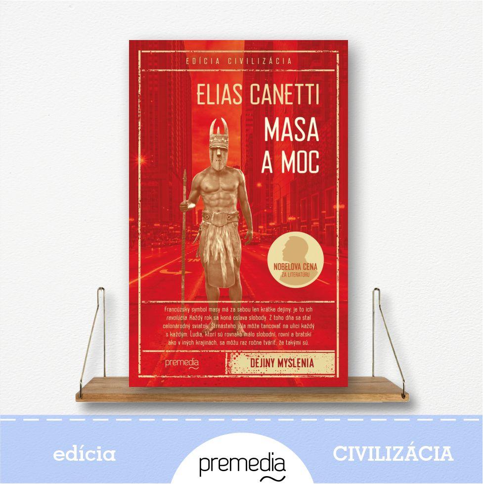 kniha Masa a moc - edícia Civilizácia