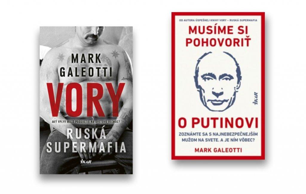 VORY - Ruská supermafia a Musíme si pohovoriť o Putinovi od Marka Galeottiho