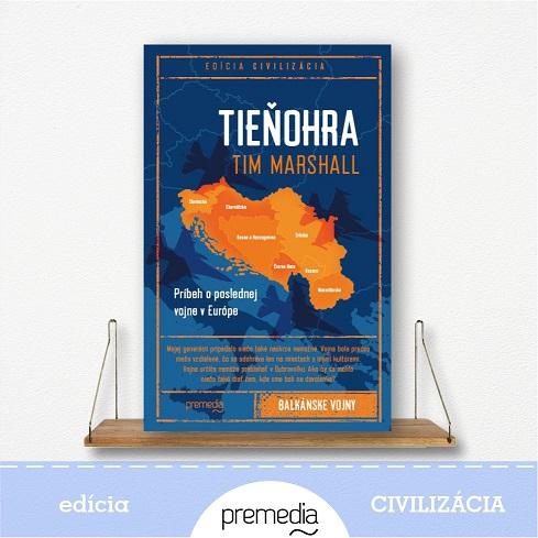 kniha Tieňohra od Tima Marshalla - edícia Civilizácia