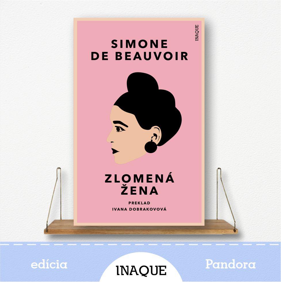 kniha Zlomená žena, edícia Pandora