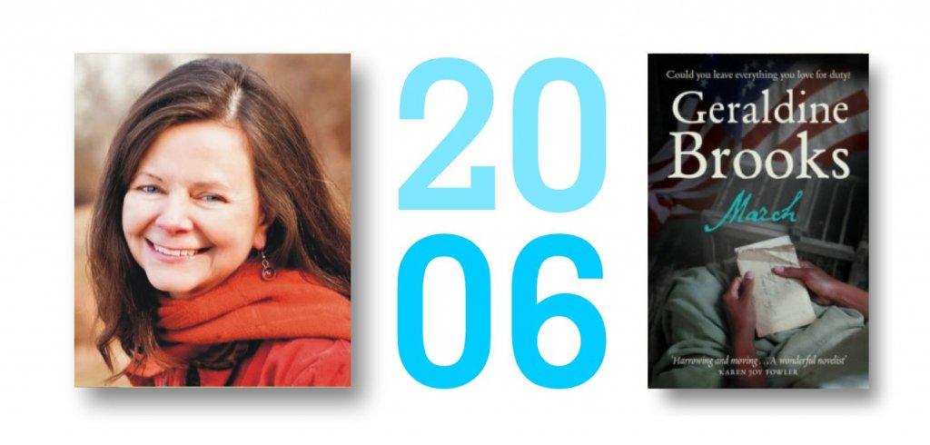 Geraldine Brooks, Pulitzerova cena za rok 2006