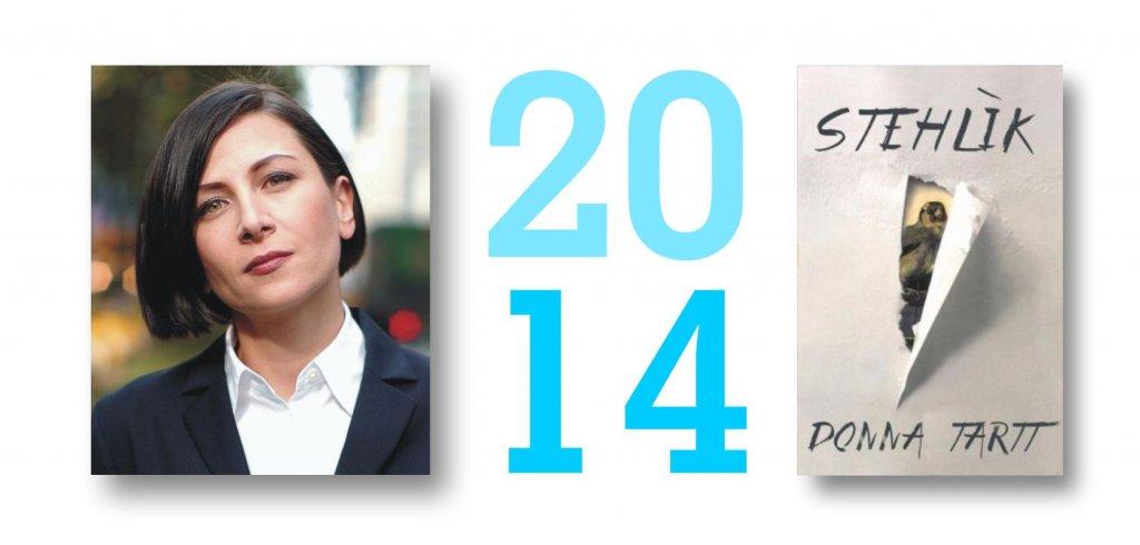Donna Tart - Stehlík, Slovart, Pulitzerova cena za rok 2014